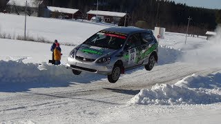 Rallying in winter (Finland)