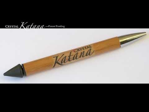 f19ef013f Crystal Katana, Patent Pending DIY tool - YouTube