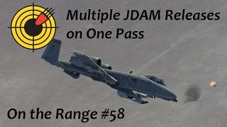on the range 58 multiple gbu 38 releases in the dcs a 10c warthog