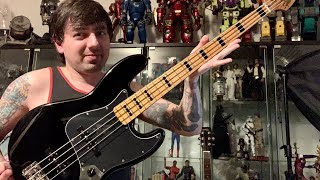 Squier by Fender Classic Vibe 70's Jazz Bass Guitar Unboxing & Review