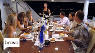 Below Deck Mediterranean: A Moussaka Mishap (Season 1, Episode 1) | Bravo