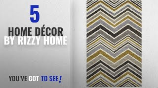 Top 10 Home Décor By Rizzy Home [ Winter 2018 ]: Rizzy Home Rockport Collection RPTRP882733280203