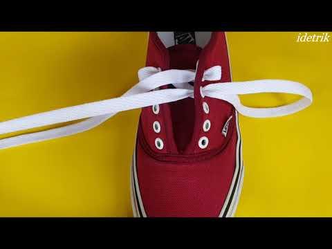 5 Cara Mengikat Tali Sepatu  Anda - Life Hacks