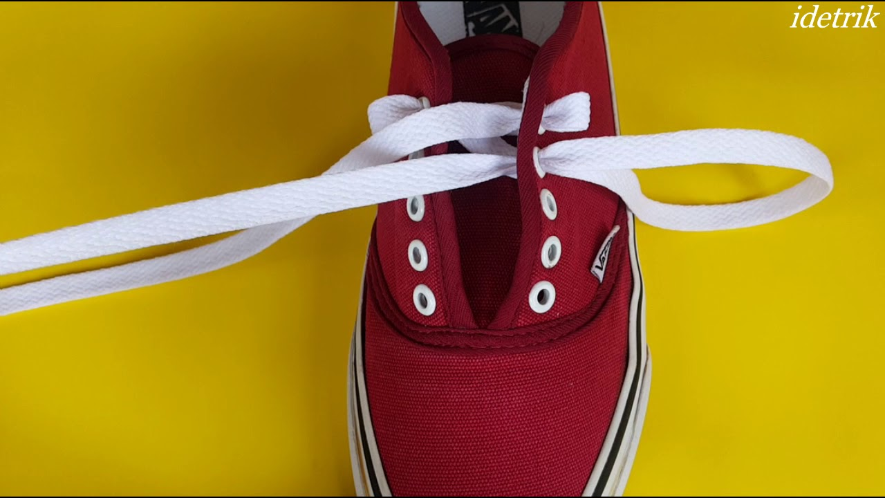 5 Cara Mengikat Tali Sepatu Anda Life Hacks Youtube