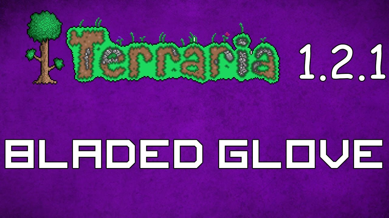 how to make a bladed glove in terraria