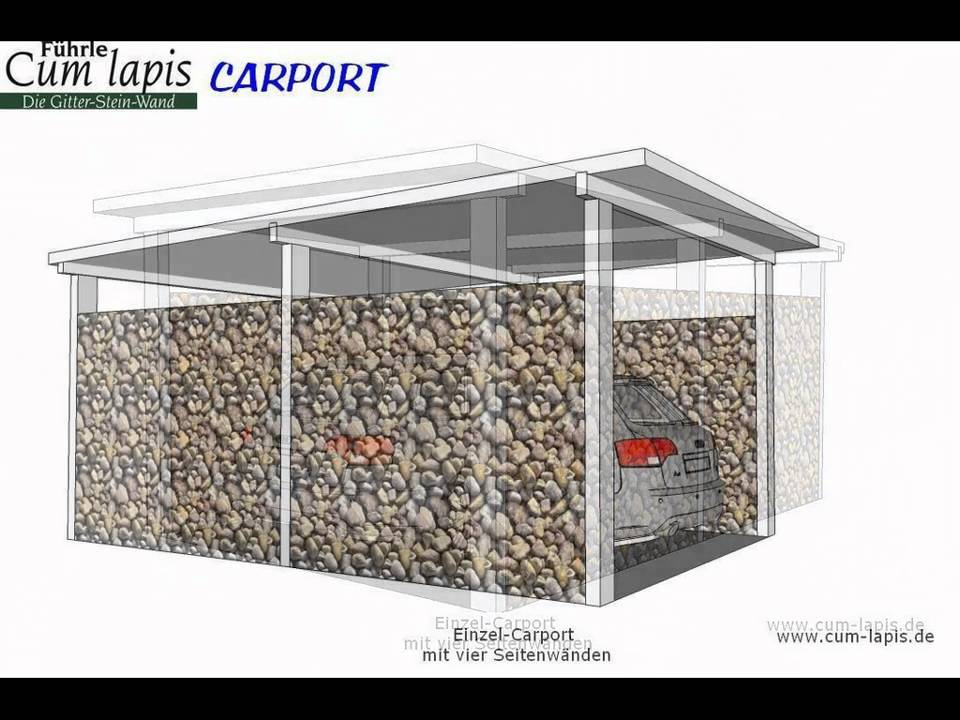f hrle einzel carport youtube. Black Bedroom Furniture Sets. Home Design Ideas
