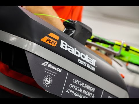 Babolat Insiders: Racket and Stringing Service at Roland-Garros