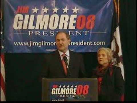 Jim Gilmore announces for president (Part One)