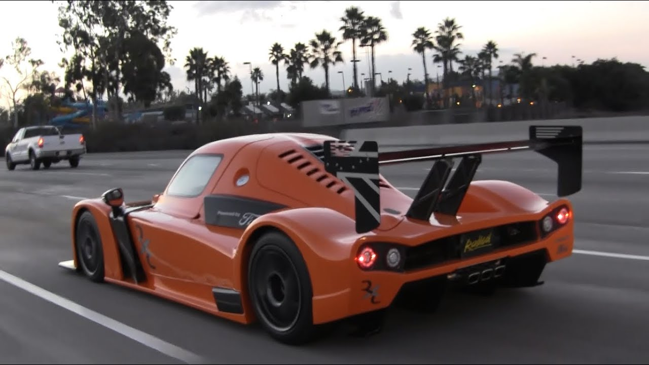 Radical Rxc Cruising On The Highway Extreme Street Legal Car