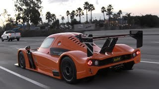 Radical RXC Cruising on the Highway - Extreme Street Legal Car thumbnail