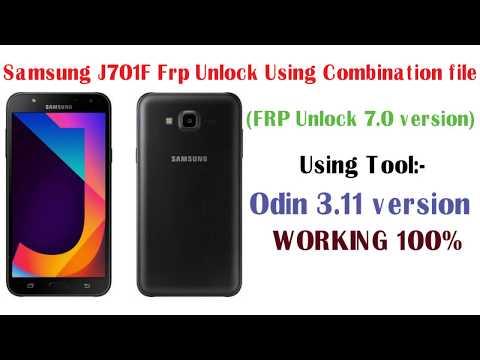 Samsung J701F frp lock 7 0 latest security patch lock june 2018