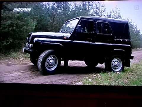 UAZ HUNTER CLASSIC tv show test [ TARMOT 4x4 ]