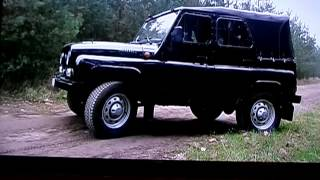UAZ HUNTER CLASSIC tv show test [ TARMOT 4x4 ]