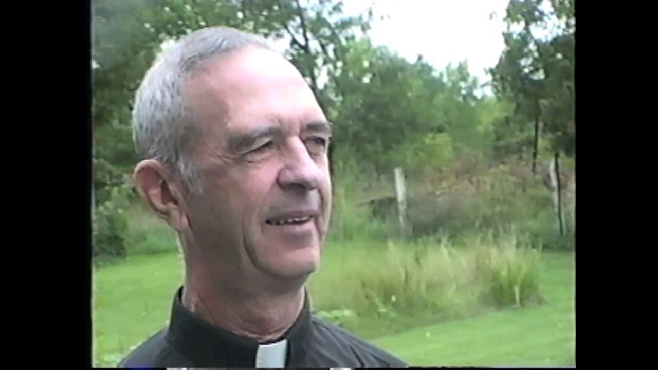 WGOH - Fr. Walsh at Mission Center  9-4-93