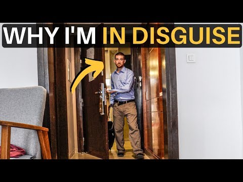 WHY I'M IN DISGUISE... (Libya)