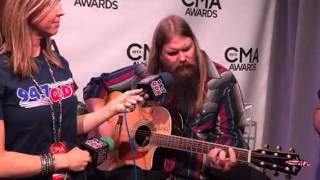 Chris Stapleton sings Tennessee Whiskey