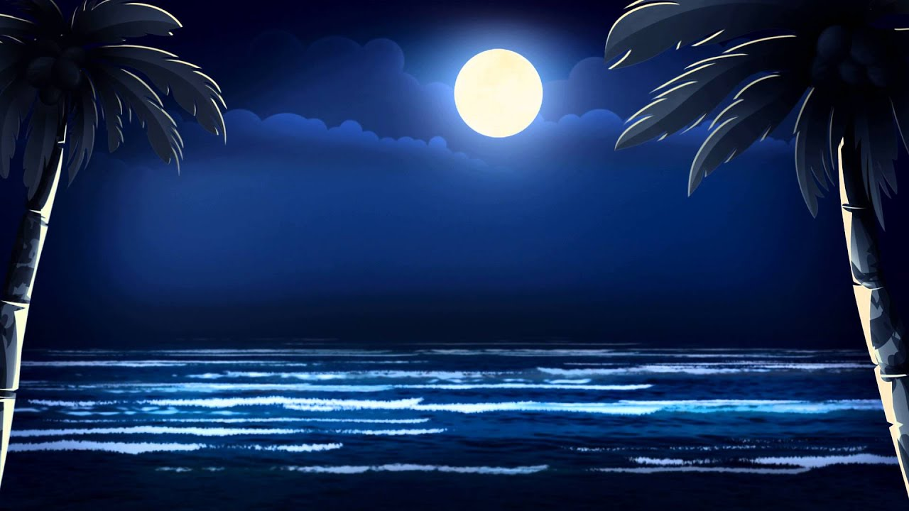 fondo video background full hd moonlit night   youtube
