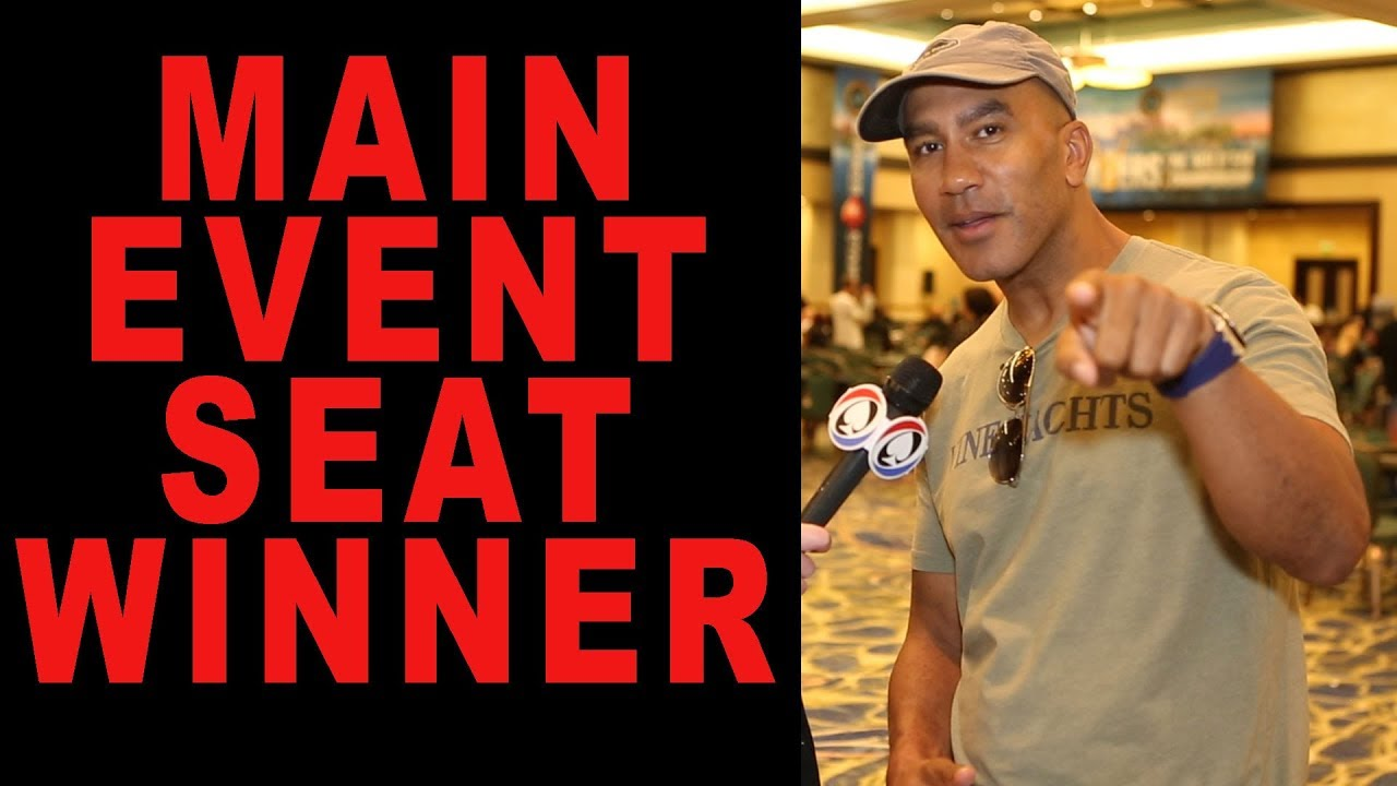 $10,000 WSOP Main Event Seat Winner Revealed!