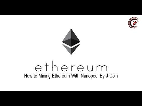 How to mine Ethereum   แค่ 5 นาทีก็ขุด ETH เป็น + รีวิว nanopool[Nvidia / Amd]