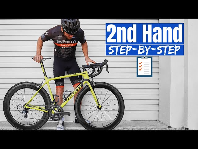 Checklist for Buying A Used Or Second-hand Road Bike