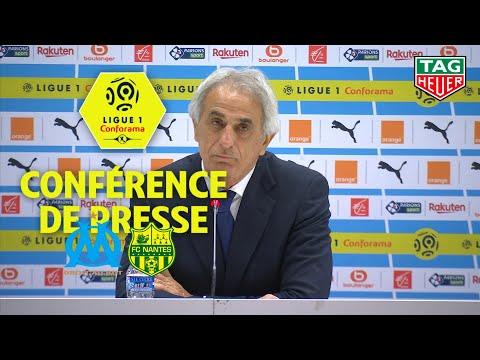 Conférence de presse Olympique de Marseille - FC Nantes ( 1-2 ) / 2018-19
