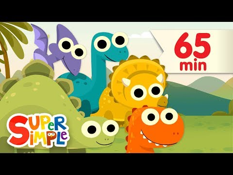 Thumbnail: 10 Little Dinosaurs + More | Kids Songs | Super Simple Songs