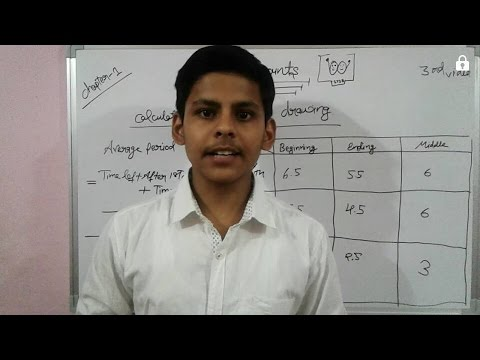 Video #3 ||Accounting for partnership || Calculation of Interest on drawing || class 12th accounts