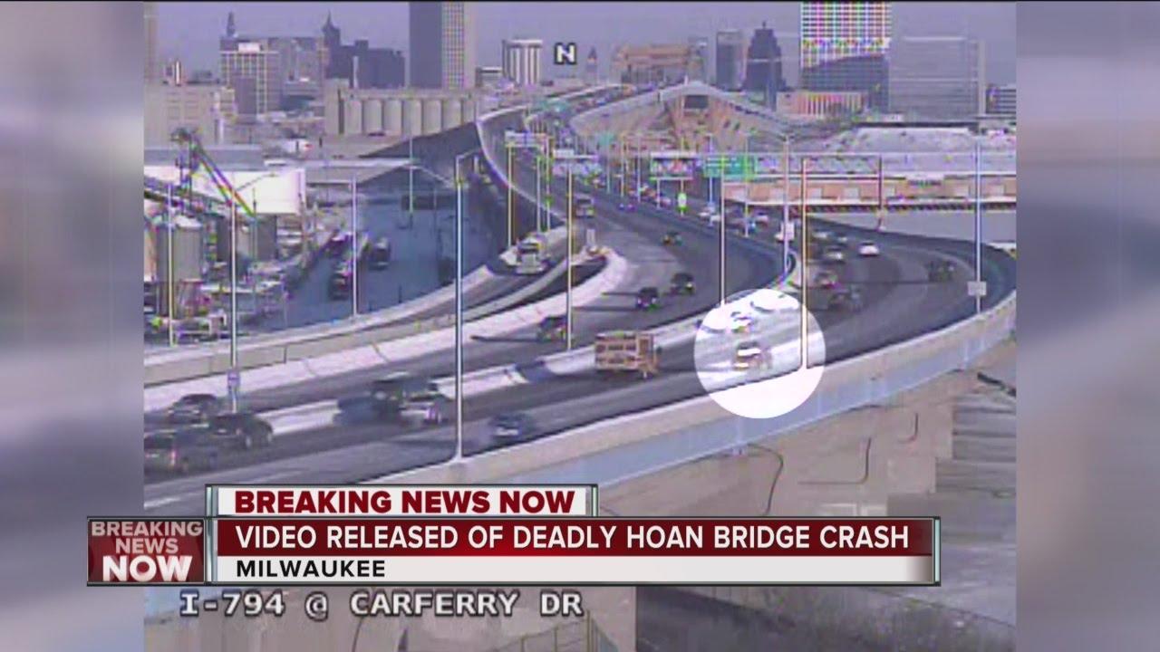 Video released of fatal Hoan Bridge crash