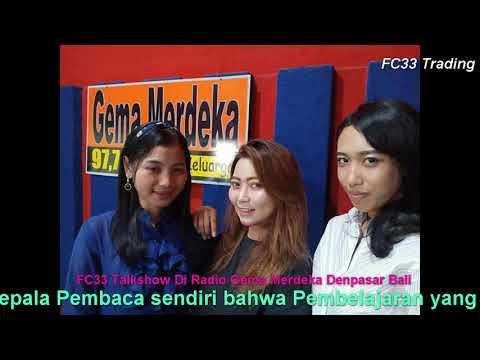 FC33 Trading Talkshow Radio Gema Merdeka Denpasar Bali