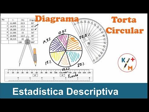 Estadística Descriptiva 11- Diagrama Circular o de Torta