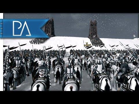 Teutonic Order Wage War On Lithuania! Epic Siege Battle - Medieval Kingdoms Total War 1212AD