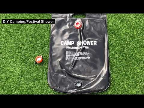 Diy Camping Shower Off Grid Warm Shower Festival Shower