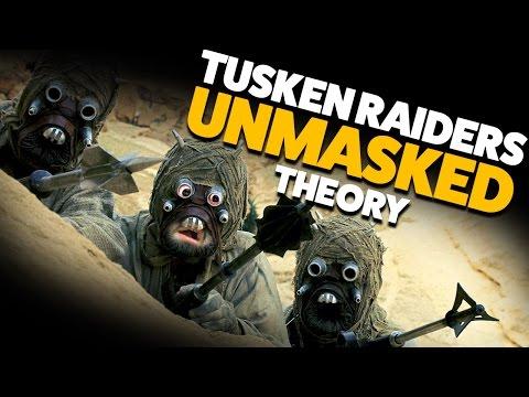 What do Tusken Raiders/Jawas Look Like? THEORY