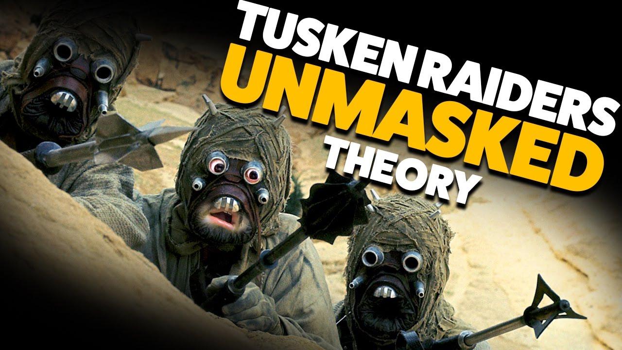 What Do Tusken Raidersjawas Look Like Theory Youtube