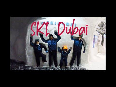☃️☃️☃️ SKI Dubai:Snow in desert with Penguins Encounter 🐧🐧🐧