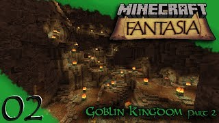 Goblin Kingdom (part 2) HUGE EXPANSION!! | Minecraft Fantasia | Ep2