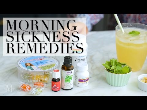 How to avoid being sick when pregnant