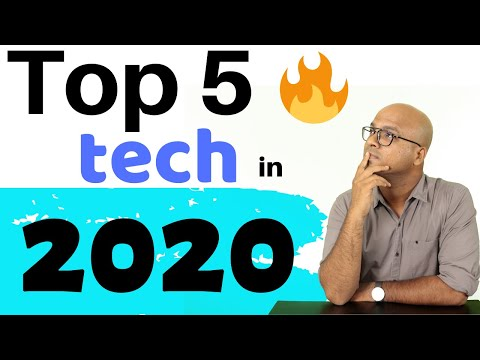 Top 5 Technologies in 2020
