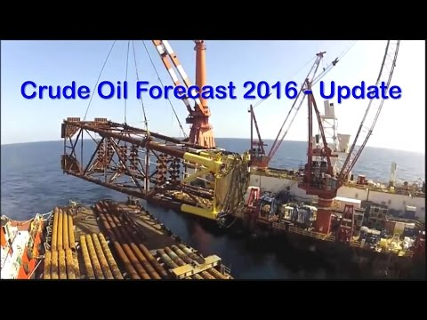 Crude Oil Price Trend Forecast 2016 September Update