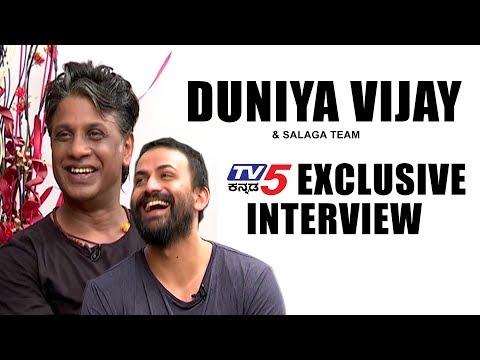 Duniya Vijay And 'Salaga' Movie Team Exclusive Interview | Dolly Dhananjay | TV5 Kannada
