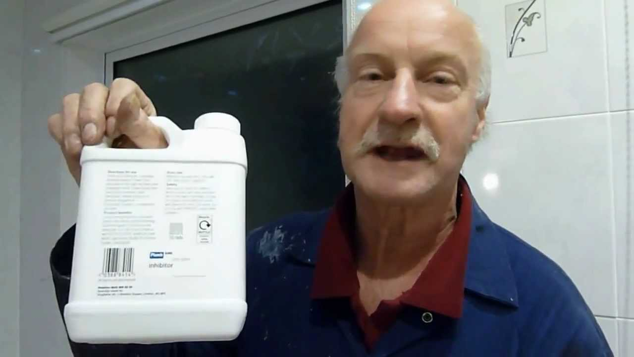 How to put inhibitor into your central heating system.Increase ...