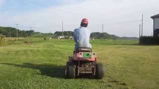 ホンダ乗用芝刈り機 01