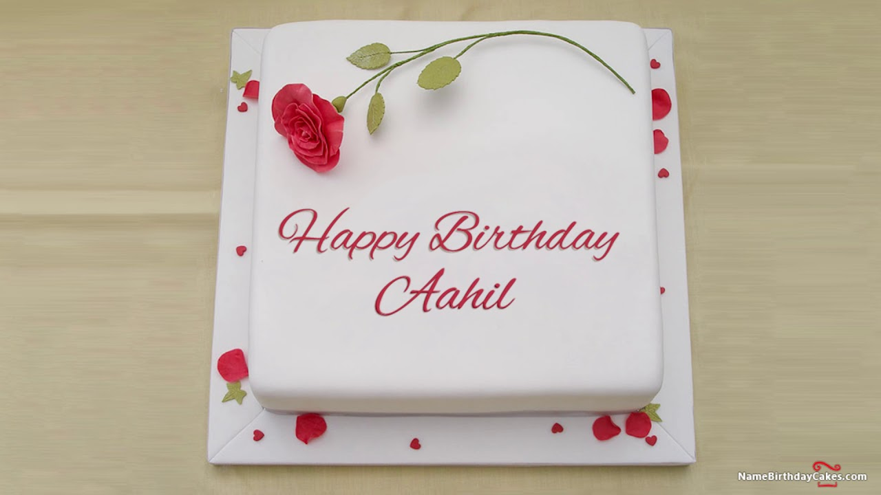 happy birthday aahil best wishes for you