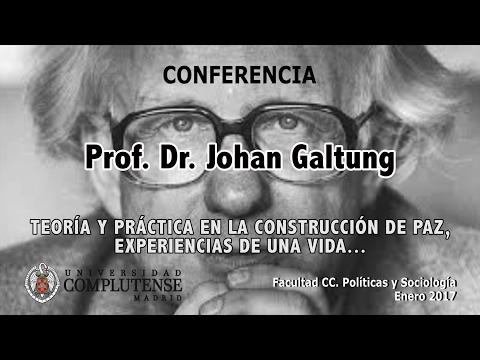 JOHAN GALTUNG TIENE LA VENTAJA DE QUE NUNCA PODRÁ SER ACUSADO DE NEONAZI.