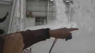Spektakularny test przeciwpożarowy