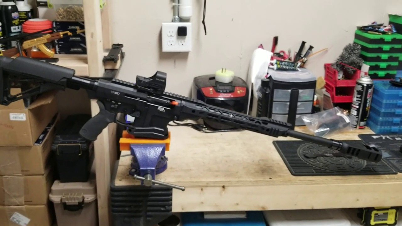 Rock Island VR80 Shotgun - Magwell and Compensator Install