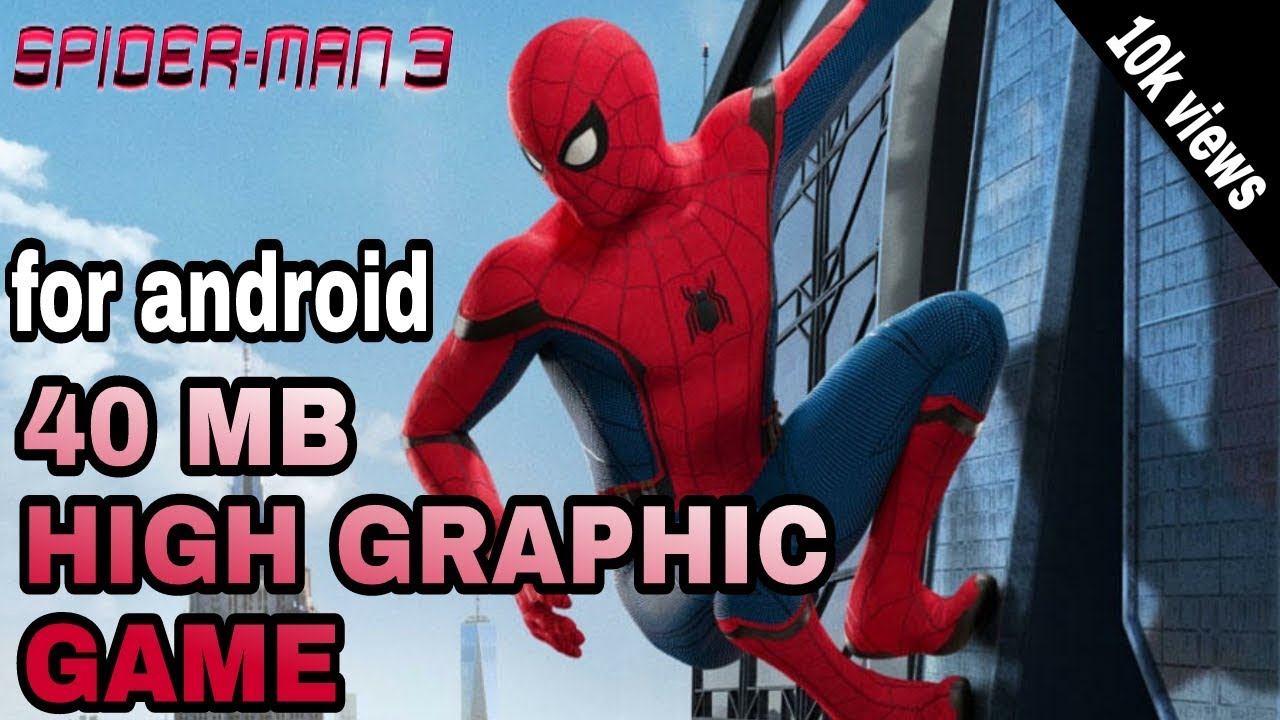 spiderman 3 pc game highly compressed 10mb