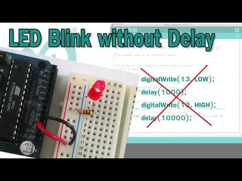 Arduino Blink Without Delay