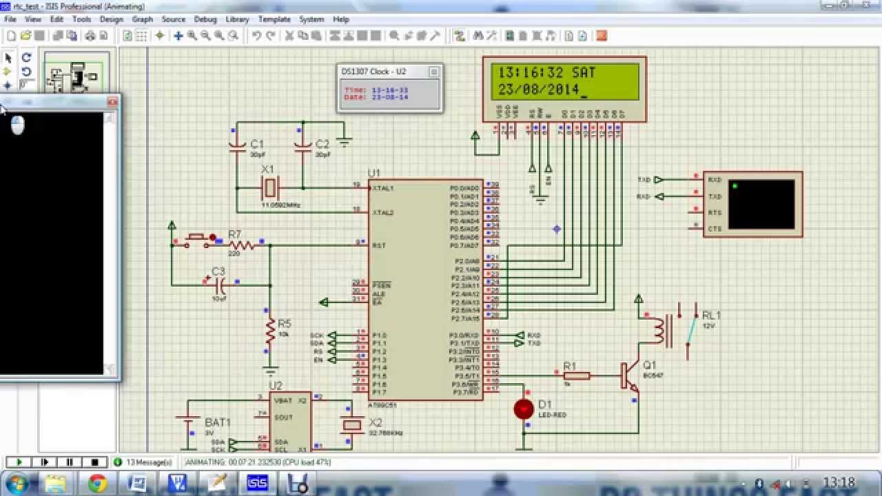 Interfacing with Real-Time-Clock RTC V10 - HandsOn