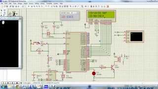 Digital clock using RTC DS1307 & 8051 with UART control